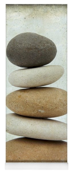 Pile Of Pebbles Yoga Mat