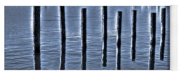 pillars on the Bay Yoga Mat