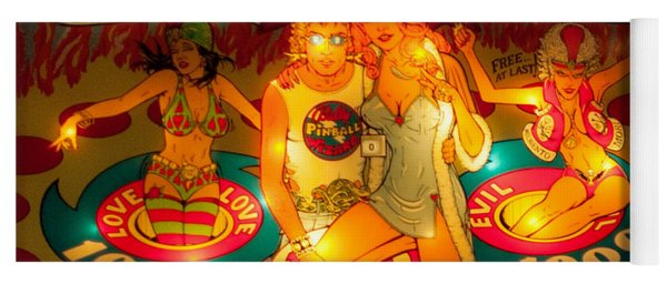 Pinball Wizard Tommy Vintage Yoga Mat