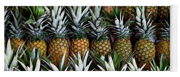 Pineapples  Yoga Mat