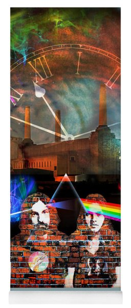 Pink Floyd Collage Yoga Mat