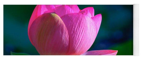 Pink Lily Yoga Mat