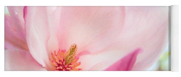 Pink Magnolia Yoga Mat