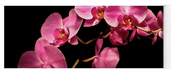 Pink Orchids 3 Yoga Mat