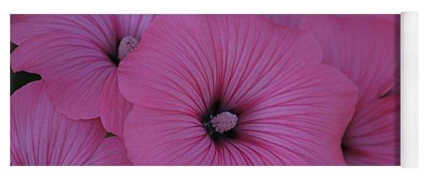 Pink Petunia Yoga Mat