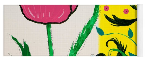 Pink Poppy And Designs Yoga Mat