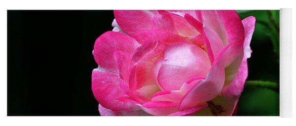 Pink Rose Yoga Mat