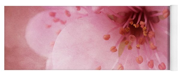 Pink Spring Blossom Yoga Mat