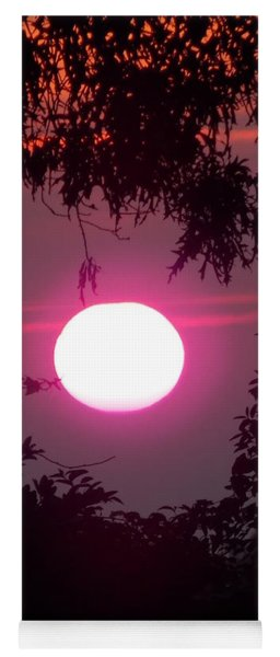 Pink Sunrise Breast Cancer Awareness Yoga Mat