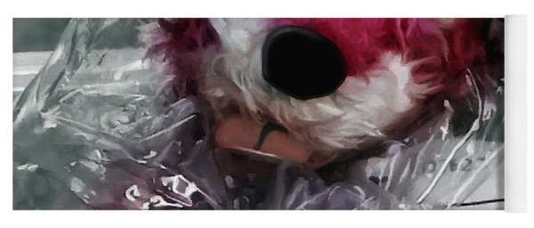 Pink Teddy Bear In Evidence Bag @ Tv Serie Breaking Bad Yoga Mat