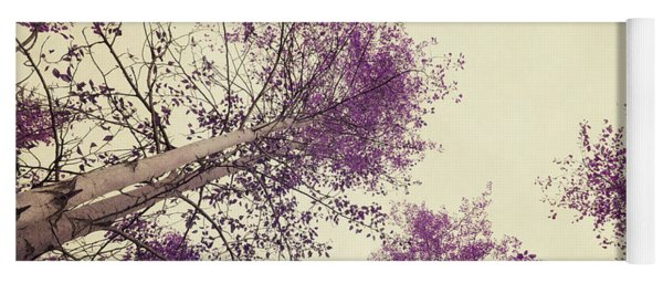 Pink Trees Yoga Mat