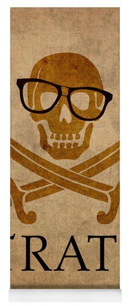 Pirate Math Nerd Humor Poster Art Yoga Mat