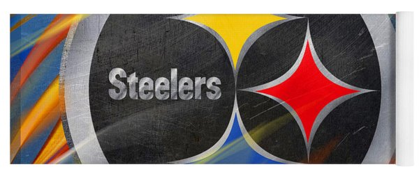Pittsburgh Steelers Football Yoga Mat