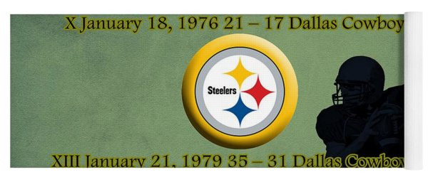 Pittsburgh Steelers Super Bowl Wins Yoga Mat