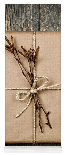 Plain Gift With Natural Decorations Yoga Mat
