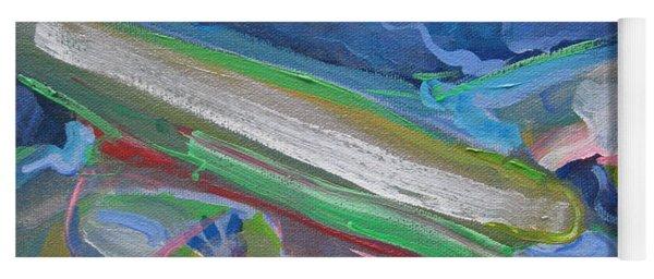 Plane Colorful Yoga Mat