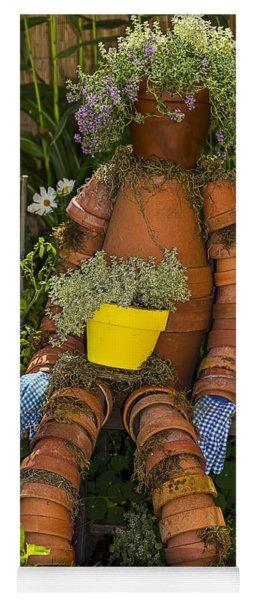 Planter Pot Man Yoga Mat