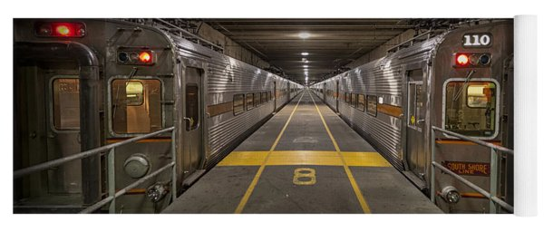 Platform Eight At Union Station Yoga Mat