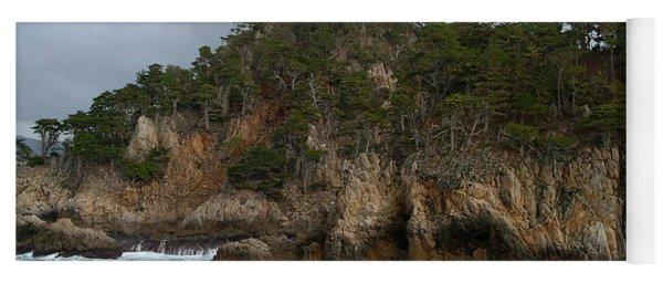 Point Lobos Coastal View Yoga Mat