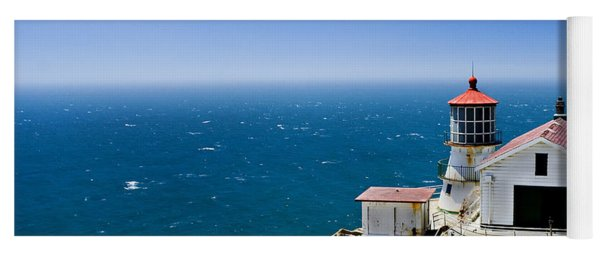 Point Reyes Lighthouse California Yoga Mat