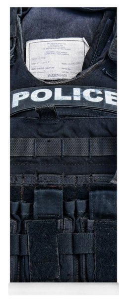 Police - The Tactical Vest Yoga Mat