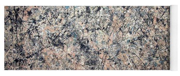 Pollock's Number 1 -- 1950 -- Lavender Mist Yoga Mat