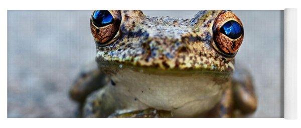 Pondering Frog Yoga Mat