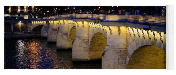 Pont Neuf Bridge - Paris - France Yoga Mat