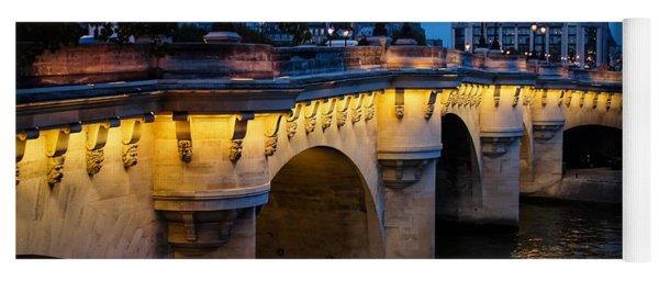 Pont Neuf Bridge - Paris France I Yoga Mat