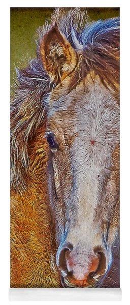 Pony Portrait  Yoga Mat