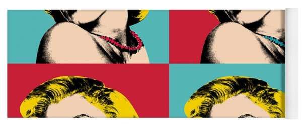 Pop Art Collage  Yoga Mat