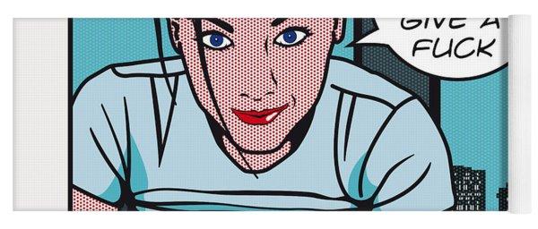 Pop Art Porn Stars - Natasha Nice Yoga Mat