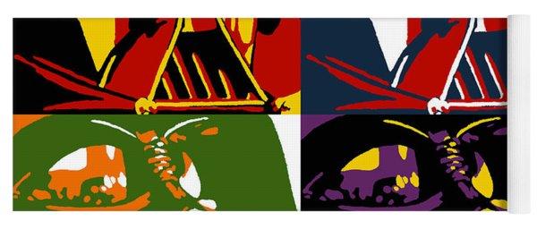 Pop Art Vader Yoga Mat