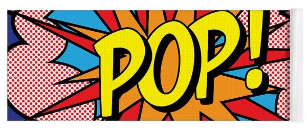 Pop Exclamation Yoga Mat