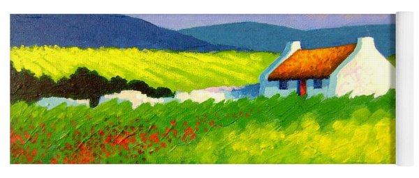 Poppy Field - Ireland Yoga Mat