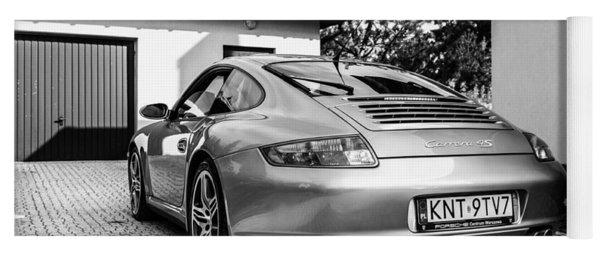Porsche 911 Carrera 4s Yoga Mat
