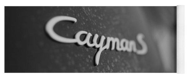 Standing Porsche Cayman S Yoga Mat