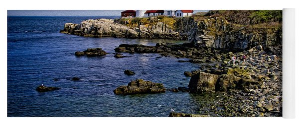 Portland Headlight 37 Oil Yoga Mat