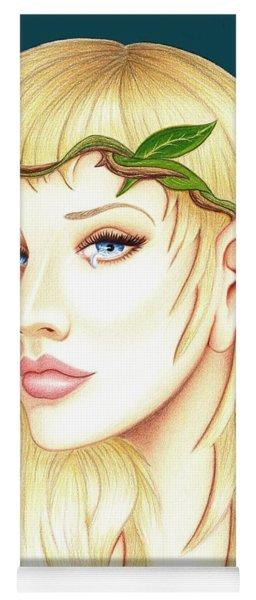 Portrait Of A She Elf Yoga Mat