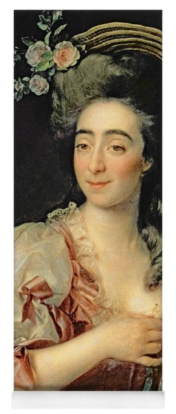 Portrait Of Anna Davia Bernucci Yoga Mat