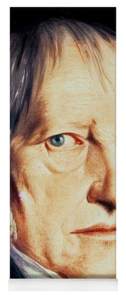 Portrait Of Georg Wilhelm Friedrich Hegel Yoga Mat