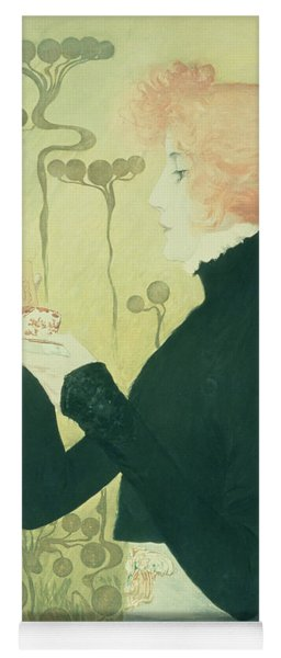 Portrait Of Sarah Bernhardt Yoga Mat