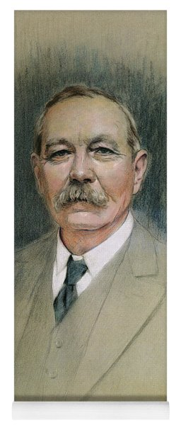 Portrait Of Sir Arthur Conan Doyle  Yoga Mat