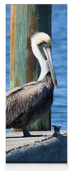 Posing Pelican Yoga Mat