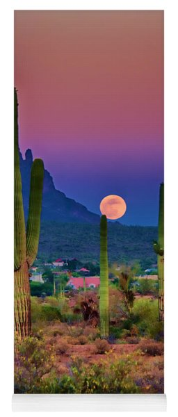 Postcard Perfect Arizona Yoga Mat
