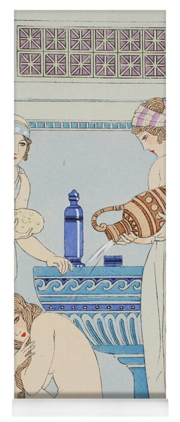 Pouring Water Over The Patient Yoga Mat