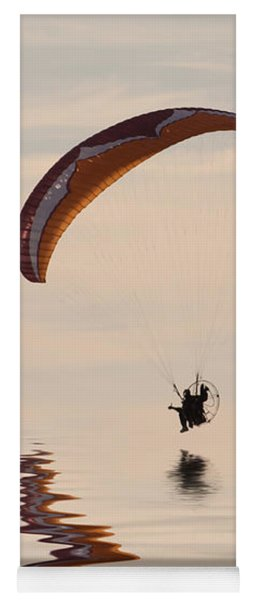 Powered Paraglider Yoga Mat