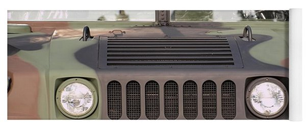 Powerful Army Off Road Vehicle Yoga Mat