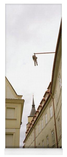 Prague's Hanging Man Yoga Mat