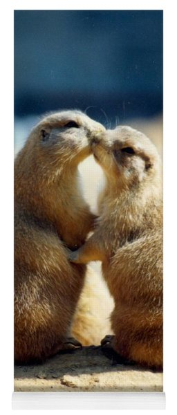 Prairie Dogs Kissing Yoga Mat